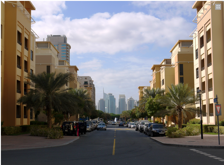 Property in The Greens, Dubai as depicted by Pride View Properties.